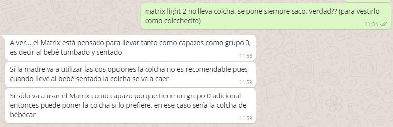 Capazo Matrix Light 2 Capota y Colcha Colchecito
